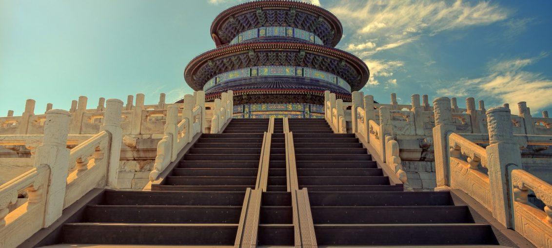 Budynek w Azji
